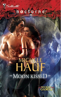 Interview and Moon Kissed by Michele Hauf