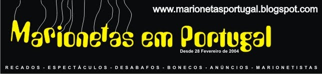 TEATRO DE MARIONETAS EM PORTUGAL