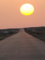 الطريق الصحراوي.. الى طبرق