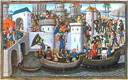 Conquest Of Constantinople By The Crusaders In 1204