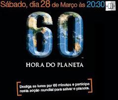 Vamos apagar as luzes dia 28, pelo bem do nosso planeta! Adiram!