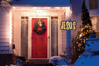 The jesus sign let your light so shine for Front doors that let in light