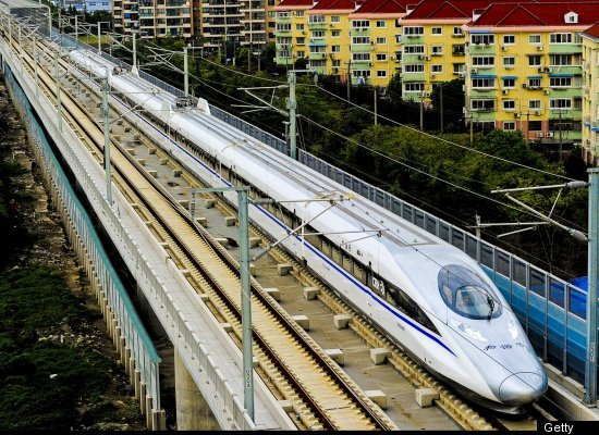 World's Fastest Bullet Train In China, Not In Japan ...