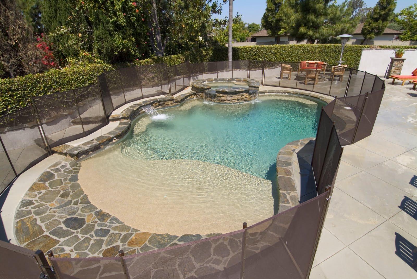 Any Opinions On A Vanishing Edge Pool Maintenance Fence