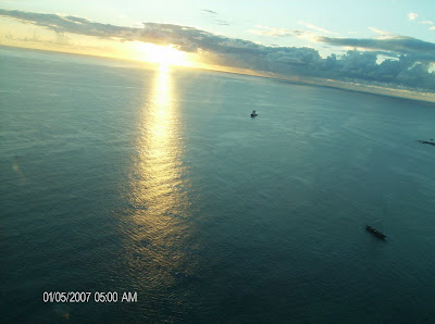 Caraibes - Saint Martin vue d'avion