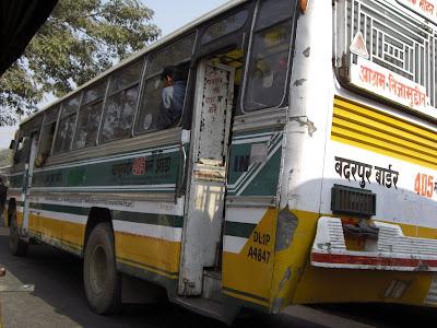 Inde - Bus public à Delhi