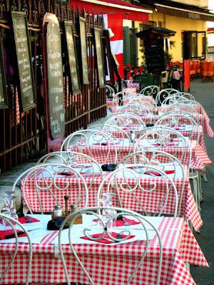 Annecy - Petit restaurant du vieux centre