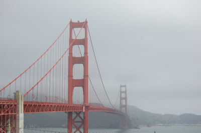 Etats Unis - The Golden Gate Bridge, San Francisco.