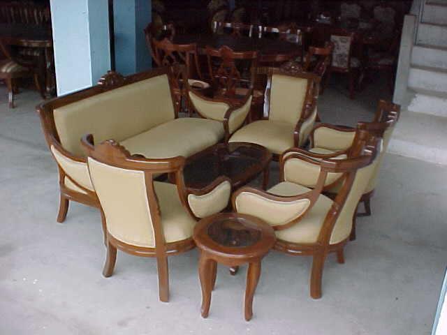 El mueble muebles de sala for Muebles comedores de madera