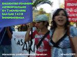 Inscripción Encuentro Feminista Metropolitano 2010