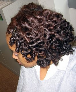 Bantu Knot Out gorgeous…