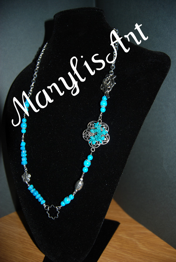 Nuove collane... Collana+azzurra+con+filigrana+a+fiore2