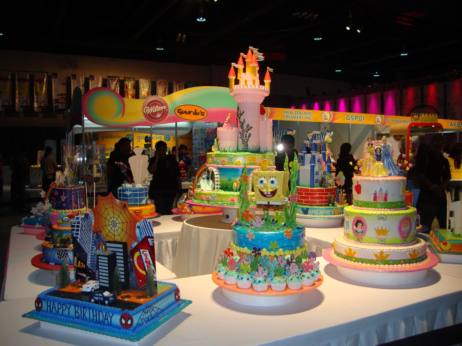 Gastronomy By Joy Goldilocks Cake Deco Expo 2