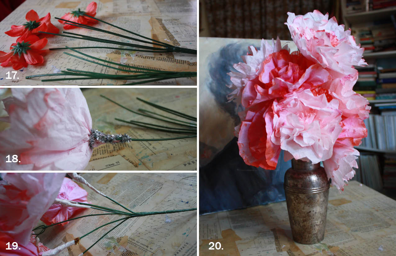 Friday Flowers Coffee Filter Bouquet Aunt Peaches