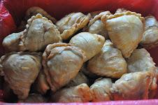 Karipap pusing inti daging/ayam/sardin (RM0.35/biji-frozen)@(RM0.50/biji-goreng)