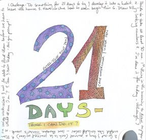 Heather Taylor, 21-Day Challenge, Day 1