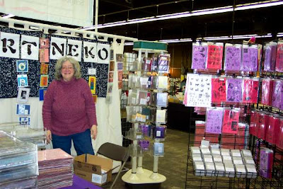 Candice Jordan of Art Neko Stamps and Art Neko Booth