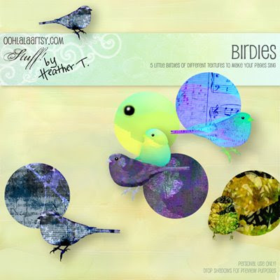 Heather Taylor, Birdies Element Pack