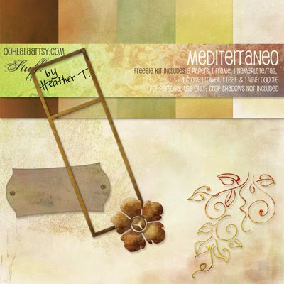 Heather T., Mediterraneo Freebie Digital Kit