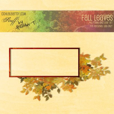 Heather Taylor, Fall Leaves Frame