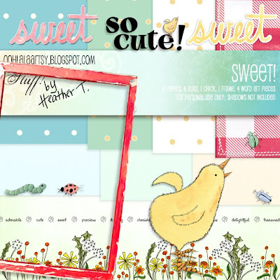 Heather Taylor, Sweet! Kit Preview