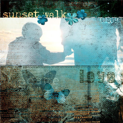 Heather Taylor, Sunset Walk