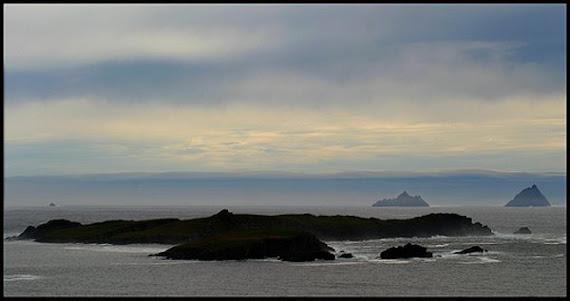 """Cette mer des """"Skelligs Rocks"""", patrimoine mondial par Unesco"""