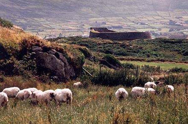 Den Ring Fort vun Cahersiveen (vun der Keltescher Geschicht)