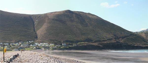 Wann vun der Dune zu Rossbeigh op Glenbeigh kuckt