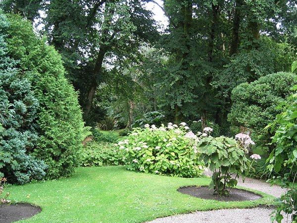 Den Park vun Derrynane House, den Setz vum Daniel O'Connell