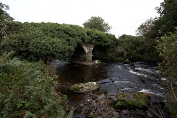 Den Cumeragh River, eng gross'arteg Baach