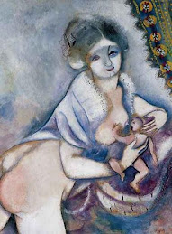 """maternidad"" - Chagall"