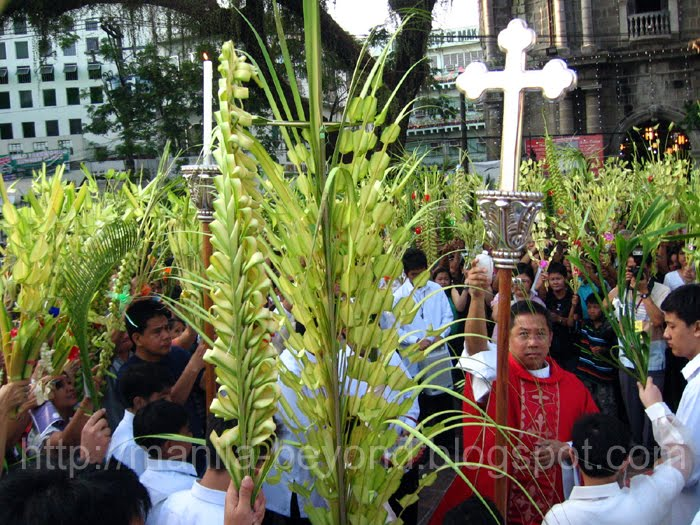 blessing+palaspas - Pinoys start Holy Week with Palm Sunday Mass - Philippine Daily News