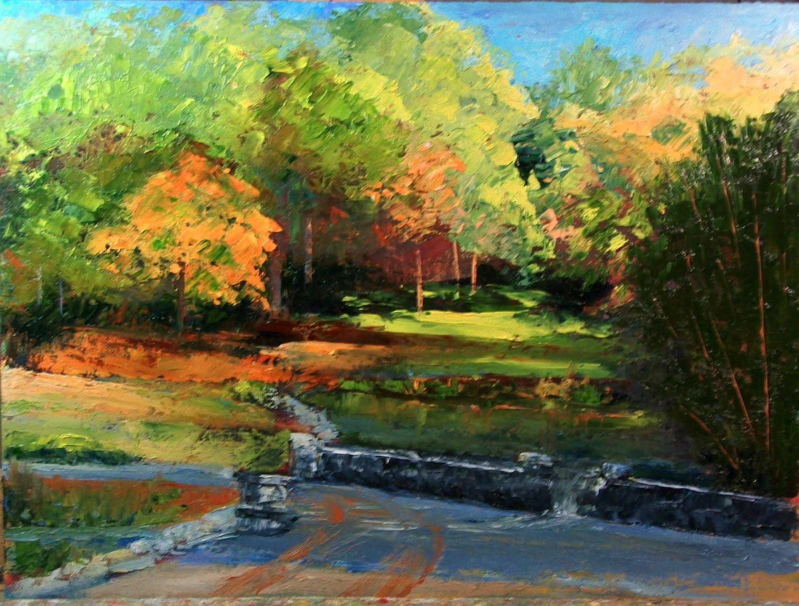 Oklahoma Daily Painters Autumn Color