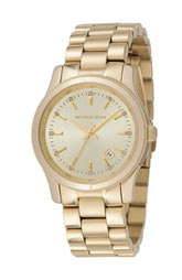 michael kors gold watch @fashionpickles