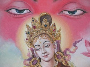 Newari Tantric Contemporary painting