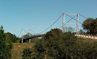 Regency Suspension bridge
