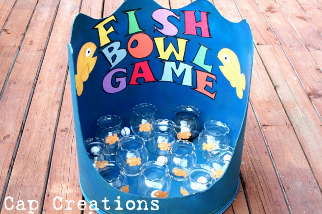 diy carnival games goldfish game card