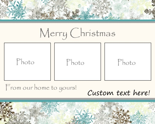Cap creations freebie photo christmas cards all of these are in the costco greeting card size which is 75x6 the great thing about using costco for your custom photo cards is you get the envelopes m4hsunfo