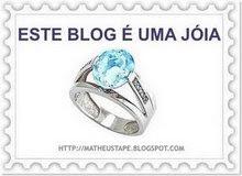 """Premio """"Este Blog é uma Jóia"""""""