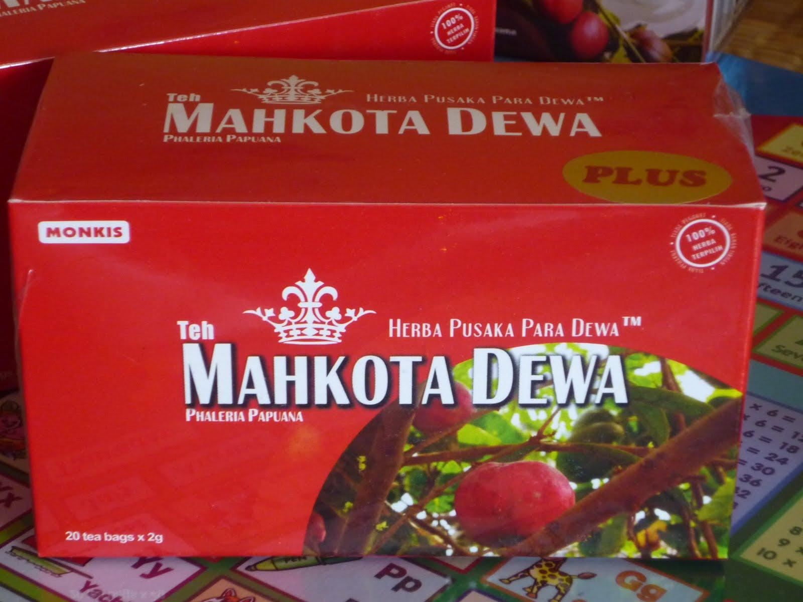 minuman herba teh mahkota dewa