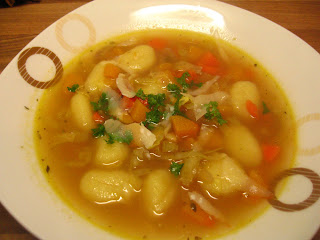 Gnocchi Minestrone Soup by Ng @ Whats for Dinner?