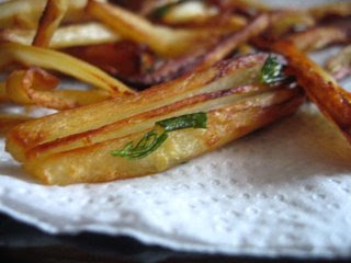 Rosemary Parsnip Chips/Fries by Ng @ Whats for Dinner?