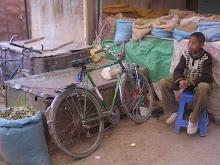 Hassan y su bici