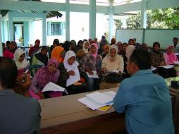 Musyawarah pembinaan kelp. SPP perdana di kantor kecamatan