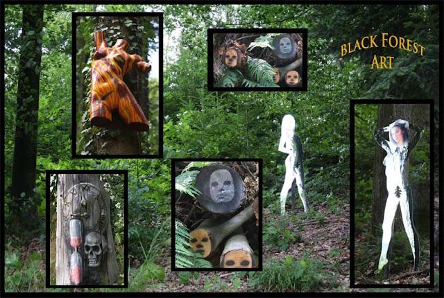 Naturpark Schwarzwald - weird art in the black forest