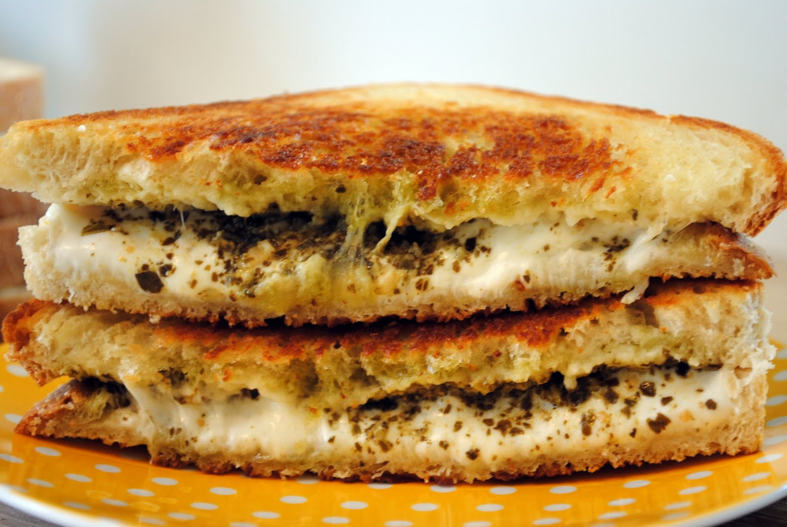 "... » ""The Special"" Grilled Pesto & Mozzarella Cheese Sandwich"
