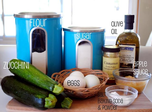 Homemade Olive Oil Zucchini Bread l SimplyScratch.com