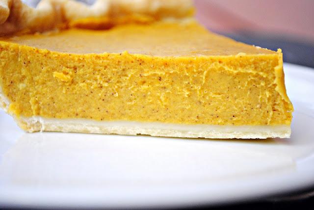 classic pumpkin pie l simplyscratch.com