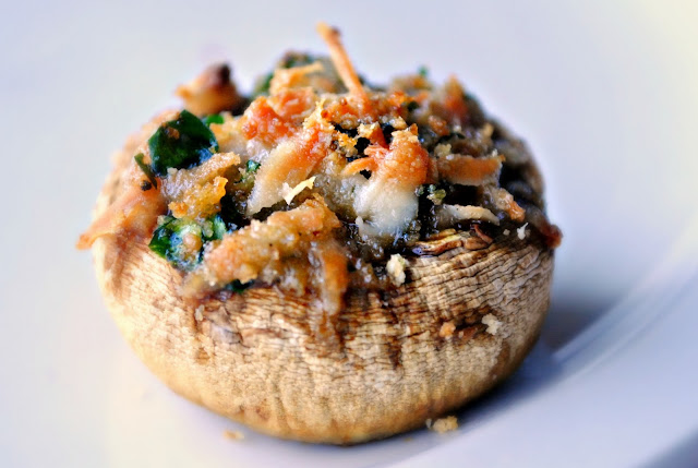 Stuffed Mushrooms l SimplyScratch.com